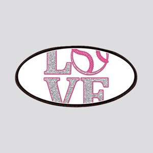 Baseball LOVE Patches