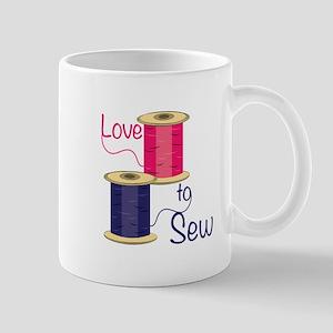Love To Sew Mugs