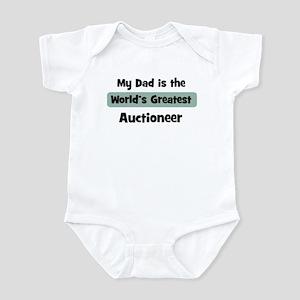 Worlds Greatest Auctioneer Infant Bodysuit