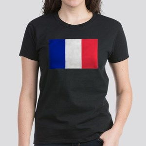 French Flag Women's Dark T-Shirt
