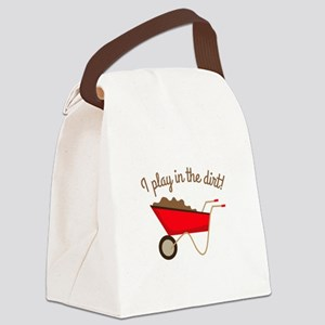 Dirt Play Canvas Lunch Bag