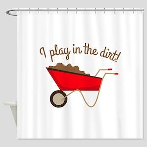 Dirt Play Shower Curtain