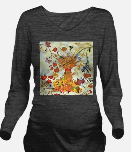 Autumn delight Long Sleeve Maternity T-Shirt