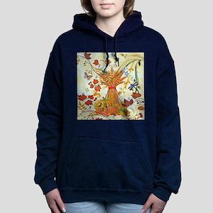 Autumn delight Women's Hooded Sweatshirt