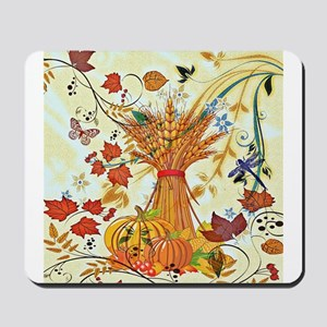 Autumn delight Mousepad