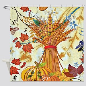 Autumn delight Shower Curtain