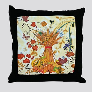 Autumn delight Throw Pillow