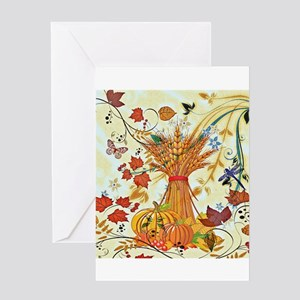 Autumn delight Greeting Cards