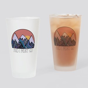 ...and i must go Drinking Glass