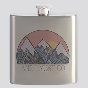 ...and i must go Flask