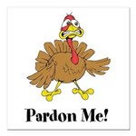 Custom Turkey Square Car Magnet 3