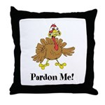 Custom Turkey Throw Pillow