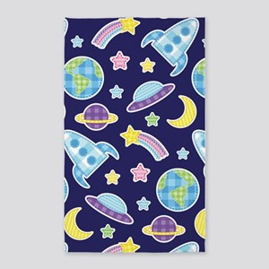 Outer Space Explorer 3'x5' Area Rug