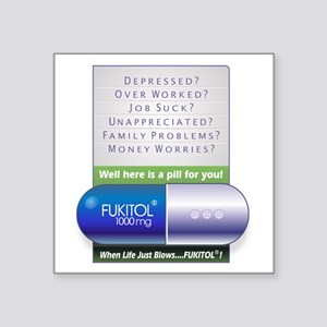 Fukitol Poster Sticker