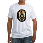 USS MONONGAHELA Fitted T-Shirt