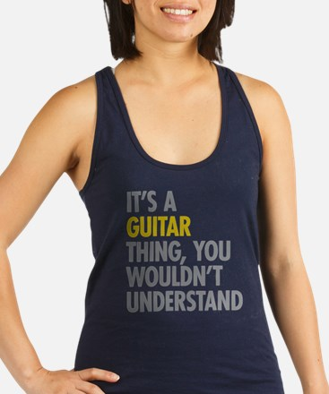 Its A Guitar Thing Racerback Tank Top