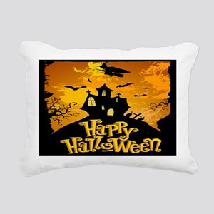 Haunted Mansion Rectangular Canvas Pillow