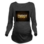 Energy Long Sleeve Maternity T-Shirt