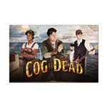 The Cog Is Dead On A Boat - Mini Poster Print