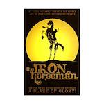 The Iron Horseman - 11x17 Mini Poster Print