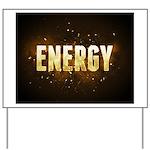 Energy Yard Sign