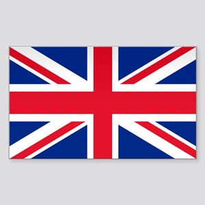Britain Flag Rectangle Sticker