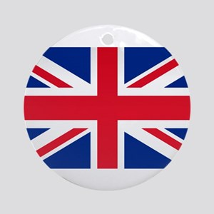 Britain Flag Ornament (Round)