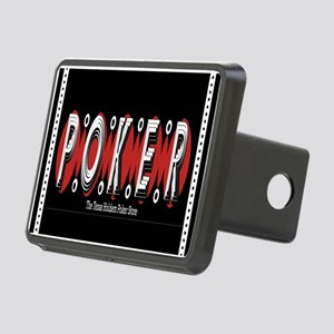 Texas Holdem POKER Rectangular Hitch Cover