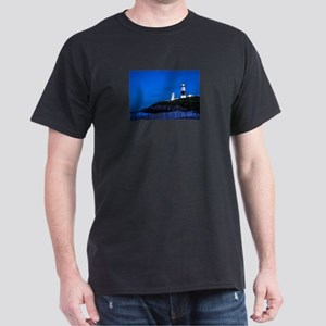 Long Island. Montauk Point Light. Dark T-Shirt