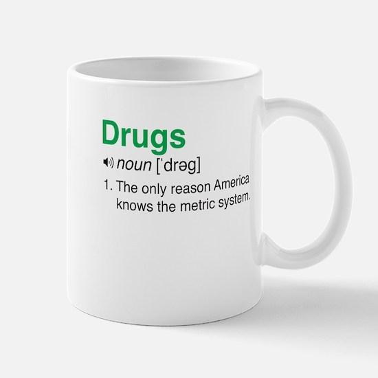 Drugs Definition Mugs
