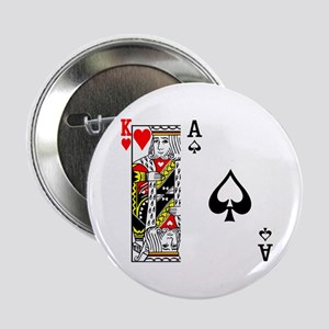 """King Ace 2.25"""" Button"""