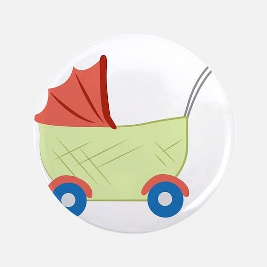 """Baby Stroller 3.5"""" Button"""