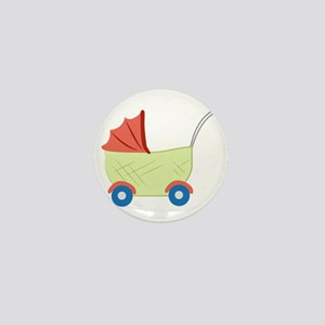 Baby Stroller Mini Button