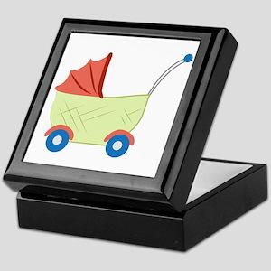 Baby Stroller Keepsake Box