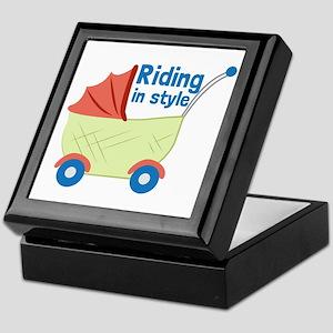 Riding in Style Keepsake Box
