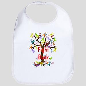 Fight Back Cancer Ribbon Tree Bib