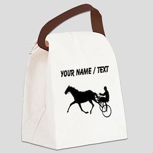 Custom Harness Racing Canvas Lunch Bag