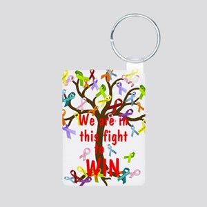 We are in this figh... Keychains