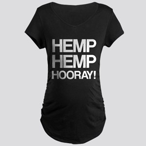 Hemp Hemp Hooray! Maternity T-Shirt