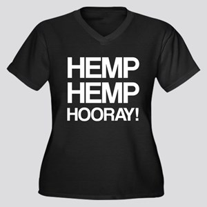 Hemp Hemp Hooray! Plus Size T-Shirt