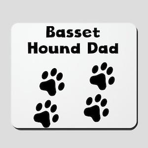 Basset Hound Dad Mousepad
