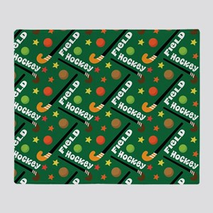 field hockey Throw Blanket