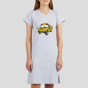 School Bus Women's Nightshirt