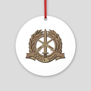 Israel - Regional Defense - No Te Ornament (Round)
