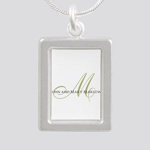 Names and Monogrammed Initial Necklaces