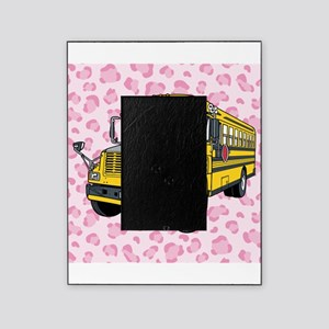 School Bus Picture Frame