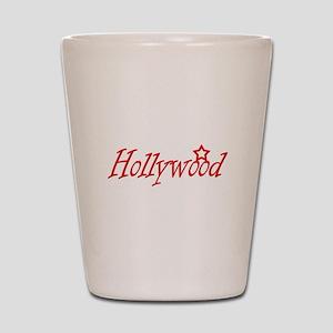 hollywood script Shot Glass