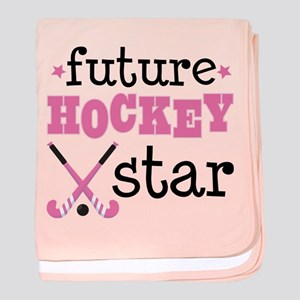 Future Field Hockey Star baby blanket