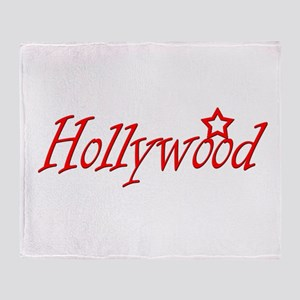 hollywood script Throw Blanket