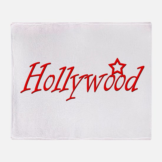 hollywood script.png Throw Blanket